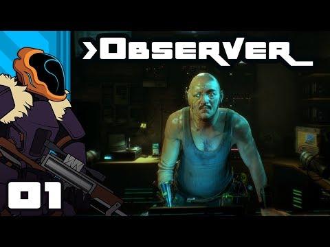 Let's Play Observer - PC Gameplay Part 1 - Neuromancer X Blade Runner