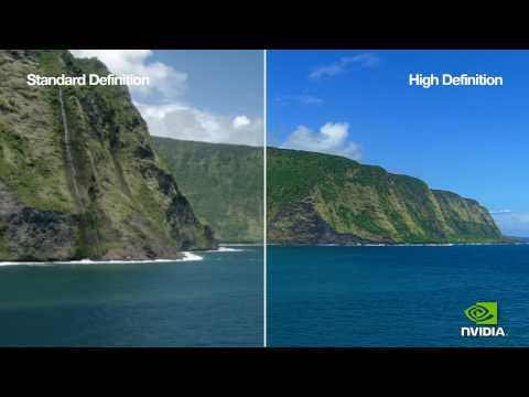 Standard VS. High Definition - NVIDIA - FULL 1080P Resolution - YouTube Test