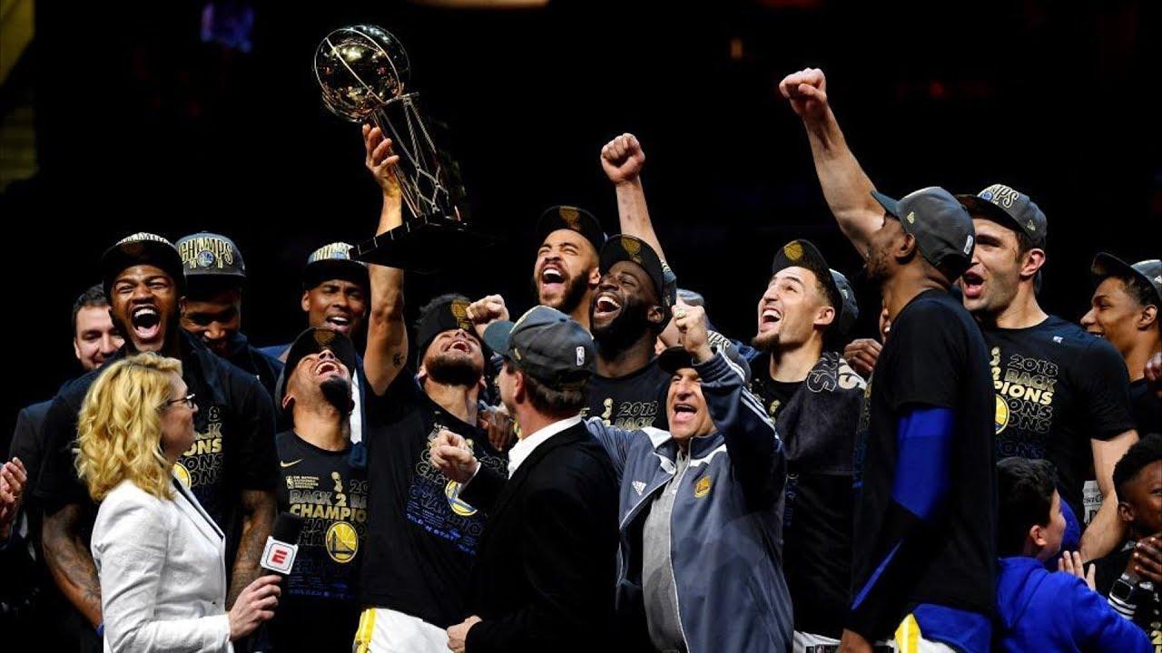 Warriors Sweep LeBron! Kevin Durant Finals MVP! 2018 NBA Finals