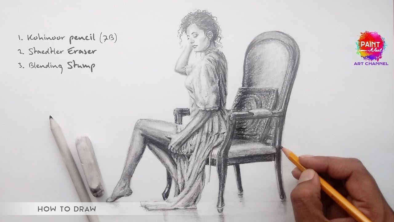 Pencil drawing step by step koh i noor pencils art online
