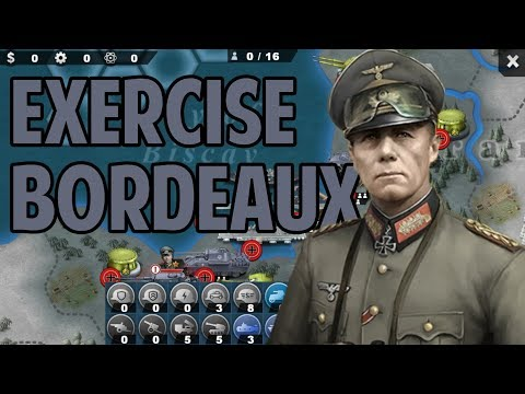 Exercise  Bordeaux  [World Conqueror 4] Domination Mode