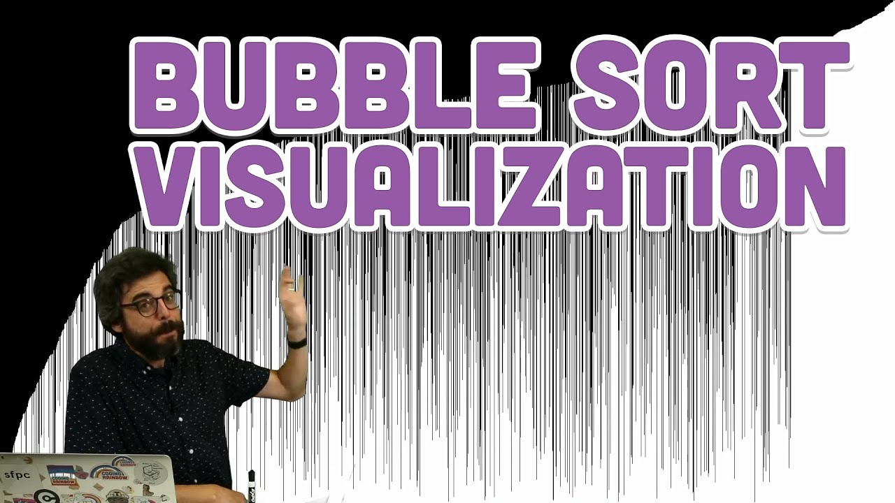 Coding Challenge #114: Bubble Sort Visualization