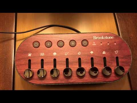Brookstone/Homedics Sound Mixer Sound Machine Review.