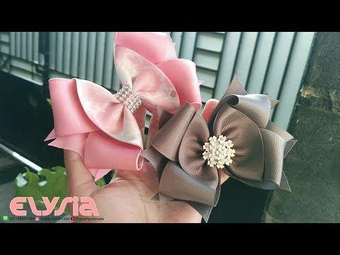 New Laço Boutique 🎀 Ribbon Bow 🎀 DIY by Elysia Handmade