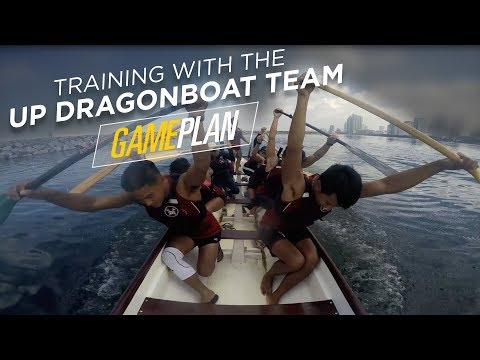 Training with the UP Dragonboat Team