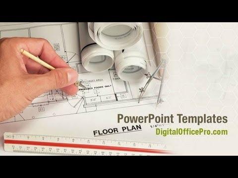 Floor Plan PowerPoint Template Backgrounds - DigitalOfficePro ...