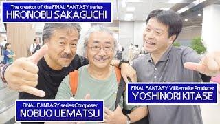 We meet legends of FINAL FANTASY at Taiwan Airport