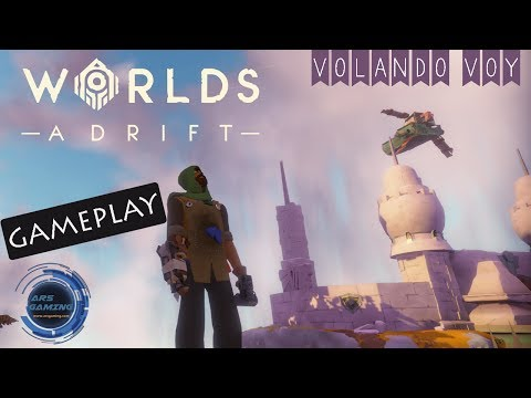 Worlds Adrift | Gameplay en español #01 | Volando voy