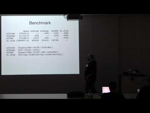 gpw2016 Helmut Wollmersdorfer - ‎Tuning Algorithm::Diff revisited‎