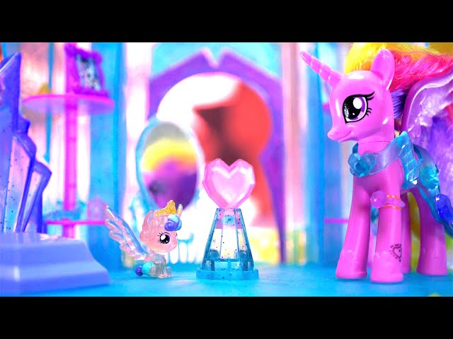 🌈彩虹小馬玩具【水晶城堡】開箱 My Little Pony Crystal Empire Castle Toy