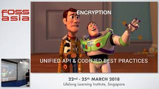 Codifying Security and Modern Secrets Management - FOSSASIA 2018