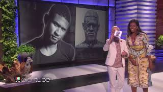 Usher 'Crash' live on Ellen