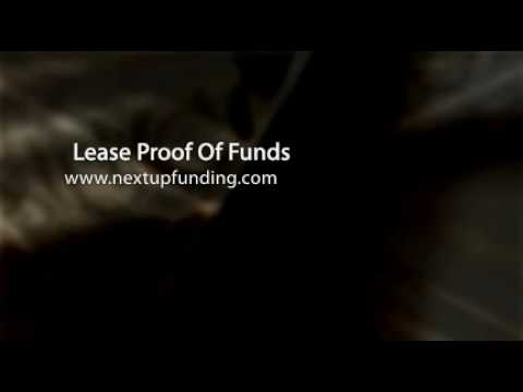 Lease Proof Of Funds