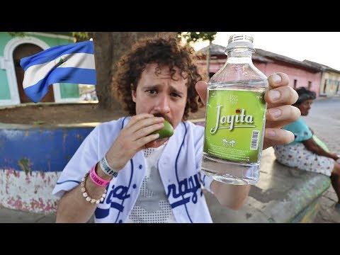 Probando COMIDA CALLEJERA en Nicaragua