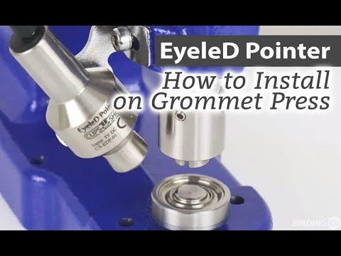 how-to-install-the-eyeled-led-laser-pointer-on-grommet-press