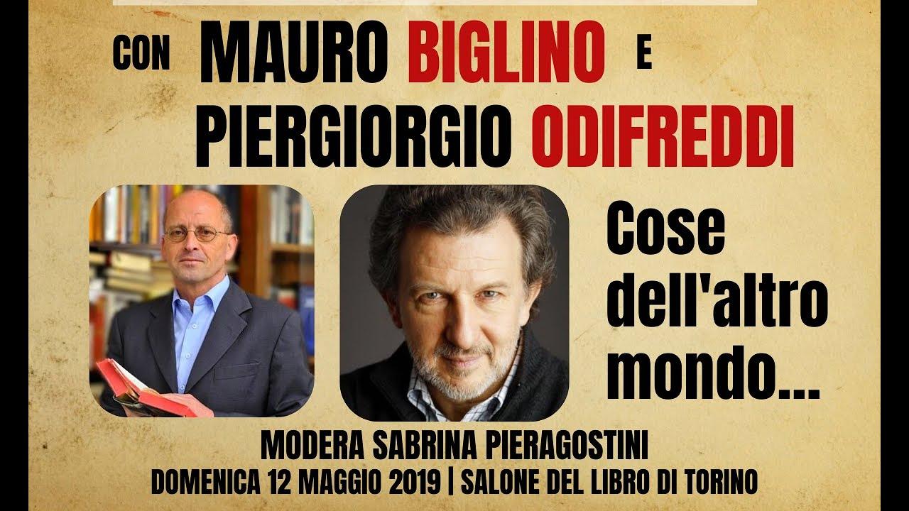 Mauro Biglino e Piergiorgio Odifreddi al Salone del Libro di Torino 2019