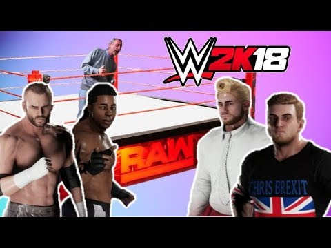 WWE 2K18 | Brexit Papers & Africa (Funny Moments)