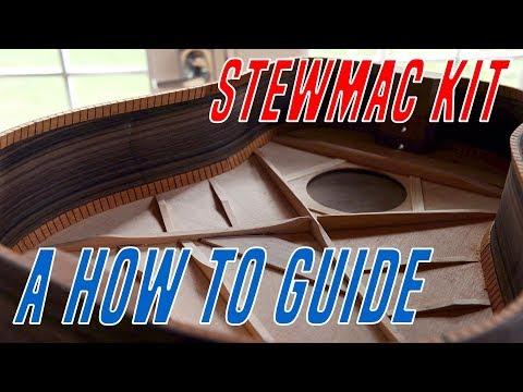 Stewmac Dreadnought Guitar Kit Build (Part One)