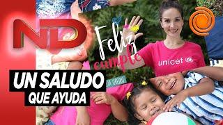 """""""Un famoso te saluda por el cumple"""" una idea de Unicef para hacer un regalo y ser solidario a la vez"""