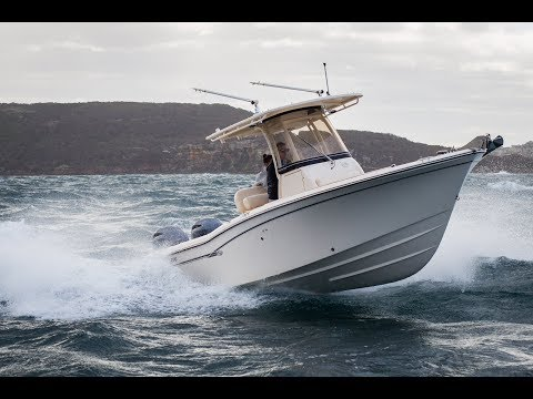 Boat driving tips onboard a Grady White with Eric Sorensen