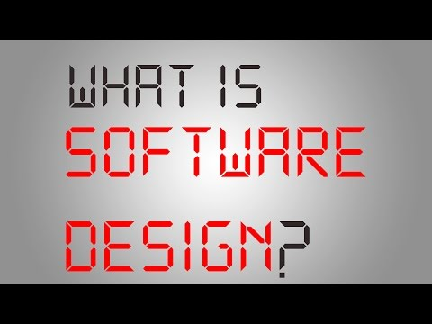 What is Software Design?