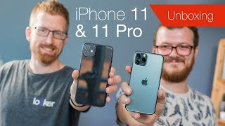 iPhone 11 and iPhone 11 Pro unboxing & comparison