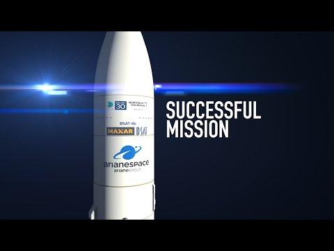 Successful Mission VA253  Galaxy 30 / MEV-2 / BSAT-4b