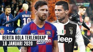 Gambar cover Mbappe Neymar Gacor PSG Bantai Monaco 😍 Messi Sebut CR7 MUSUH Abadi 😱 Rp 2 Triliun Utk Kai Havertz