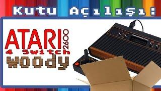 Atari 2600 Woody / Ahşap Kutu Açılışı / Unboxing