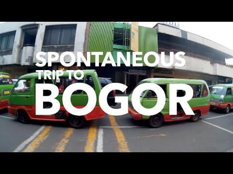 SPONTANEOUS TRIP TO BOGOR