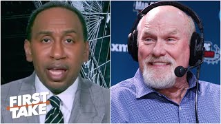 Stephen A. reacts to Terry Bradshaw on Tom Brady splitting with Bill Belichick | First Take