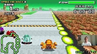 Let's Play F-Zero - MaxVelocity I Part 152 I die Jet-Knight-Mission