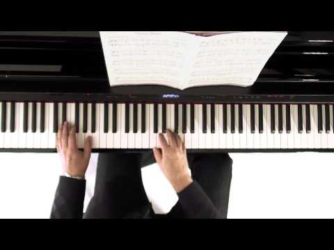 Piano Lesson on the carol We Three Kings (arr. John Maul)