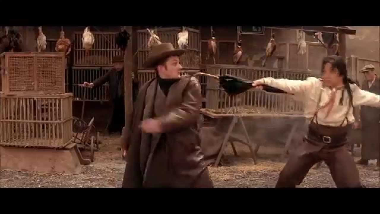 Shanghai Knights Market Fight Scene Hd Sub Youtube