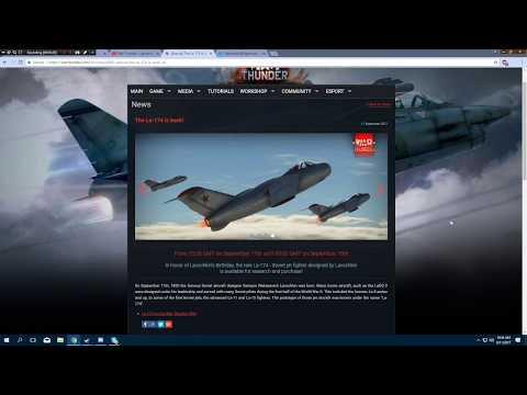 War Thunder - SPECIAL - La-174 Returns! (Collectible Aircraft Event)