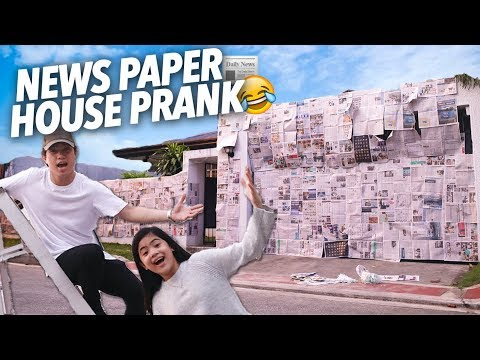 News Paper House