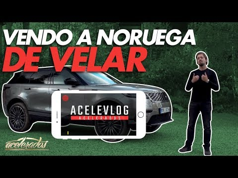 NORUEGUESAS E LINDAS, AS PAISAGENS! + JAGUAR F-TYPE 2.0 - ACELEVLOG #9
