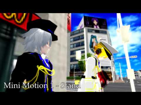 [MMD] - Set Mini Motion Pack + Download [KMD]