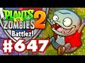 Battlez! What Ho, Sir Costalot! - Plants vs. Zombies 2 - Gameplay Walkthrough Part 647