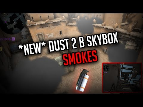 *NEW* Dust 2 B-Site Smokes! |Safe Window + Door + Plat | CSGO
