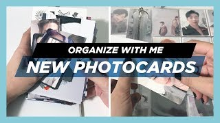 ✨Sorting & Organizing New Photocards #4! ~ Monsta X, ATEEZ, GOT7 & more! ! ✨