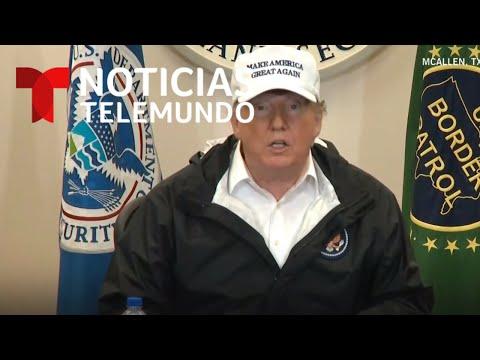 EN VIVO: El presidente Trump llega a Texas para su visita a la frontera