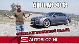 2018 Audi A6 rijtest Video