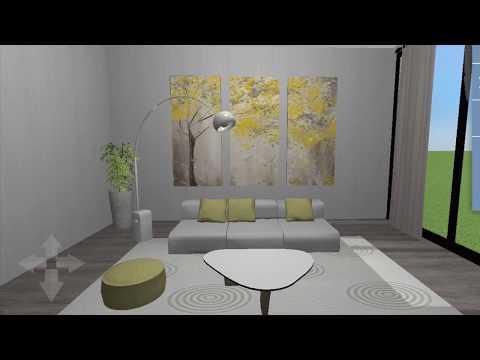 Home Design 3D: Speed Build   Minimalist Living Room