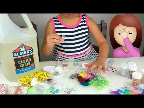 Añadiendo MUCHOS Ingredientes al SLIME 4 | Adding TOO Much Ingredients Into SLIME 4