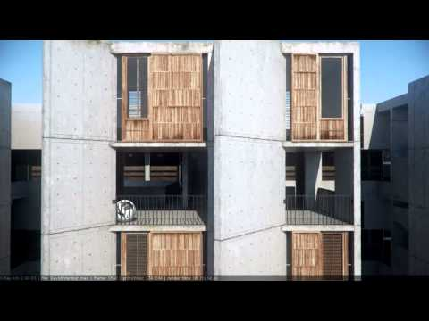 Architectural Animation - Salk Institute