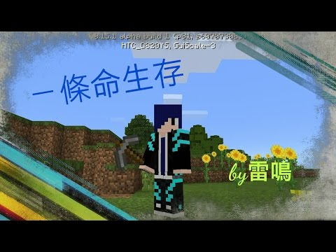 (Minecraft)ㄧ條命生存系列EP9-擺設完成##
