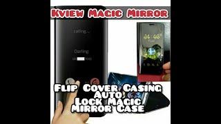 Cara mengkonekan kview magic mirror/ Flip cover Stand Kview dengan HP, Casing Auto Lock Magic Mirror screenshot 3