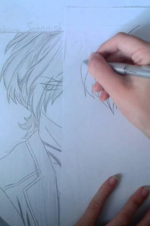 Jak Nakreslit Anime Postavu Subaru Cz 1 Cast Youtube