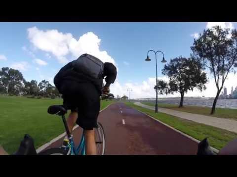 Perth Bike Trip Go Pro Hero Flume Arctic Monkeys Western Australia